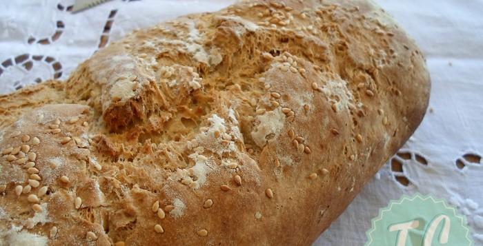 Συνταγή-για-ευκολο-ψωμι