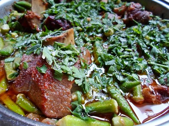 Συνταγές για Μοσχαράκι με Μπάμιες