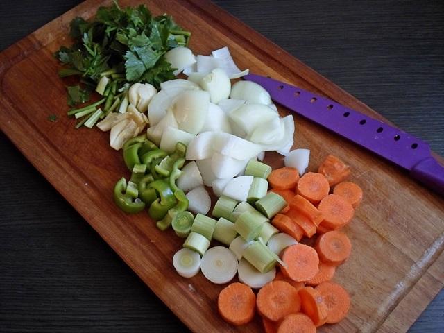 Ψαρόσουπα με Λαχανικά Συνταγές