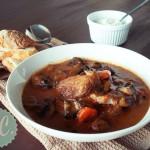 Μοσχάρι Κατσαρόλας με Μανιτάρια - Beef Stew