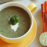 Σούπα με Μπρόκολο και Sour Cream