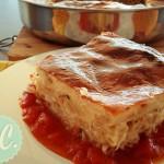 Μακαρονόπιτα με Κρέμα Γιαουρτιού