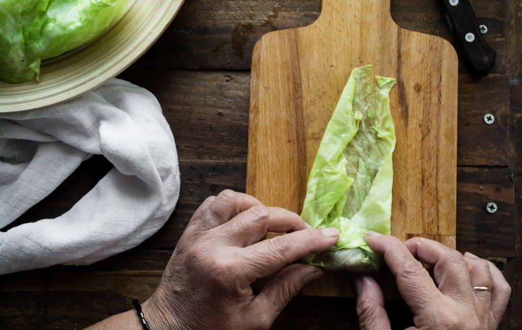 Συνταγή για λαχανοντολμάδες