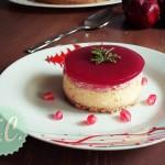 Cheesecake με Τυρί Καμαμπέρ και Ρόδι