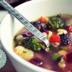 Σούπα Λαχανικών με Τζίντζερ και Πιπέρι Σετσουάν