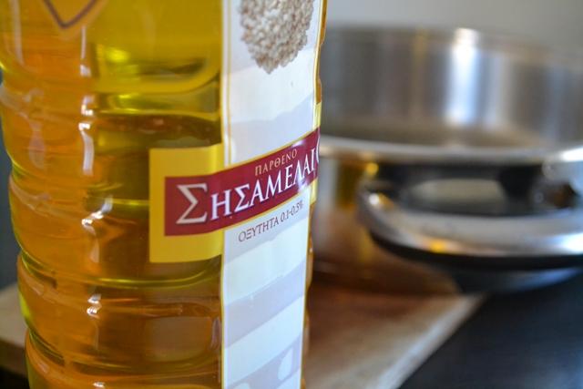 Συνταγές με Σησαμέλαιο