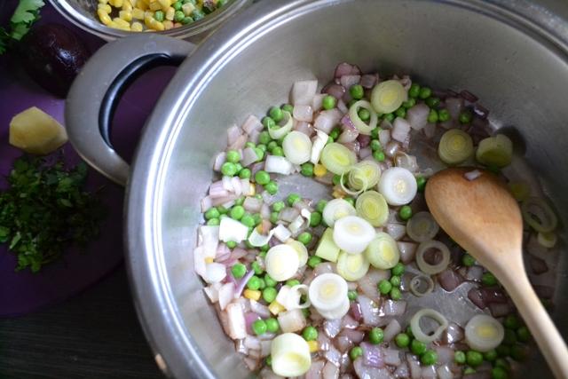 Συνταγή για Σούπα με Λαχανικά