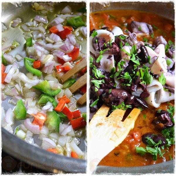 Συνταγές με Καλαμαράκια