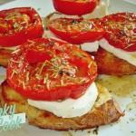 Αρωματικές Ψητές Ντομάτες με Ανθότυρο