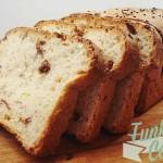 Ψωμί Φόρμας με Γιαούρτι και Λιαστή Ντομάτα