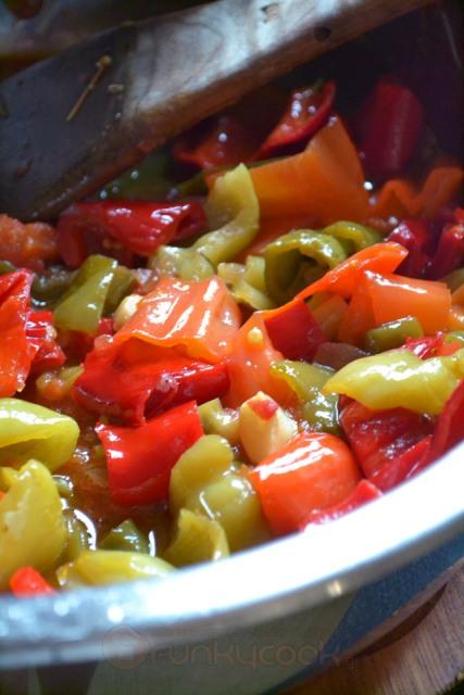 peperonata italikes suntages