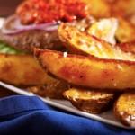 suntagi gia tiganites patates me flouda