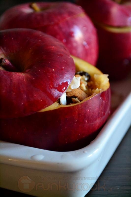Μήλα Γεμιστά Συνταγή
