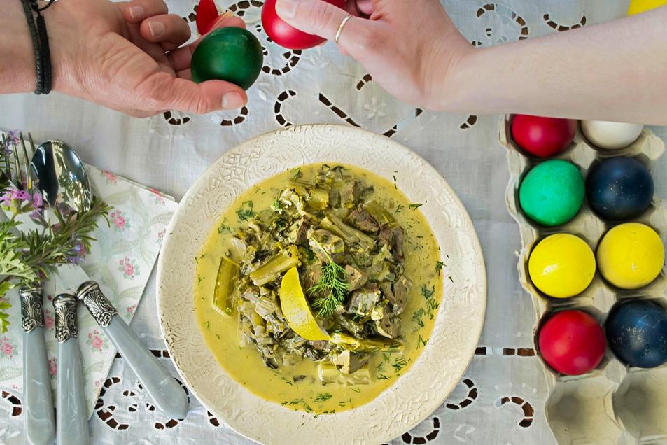 Μαγειρίτσα με Αυγολέμονο