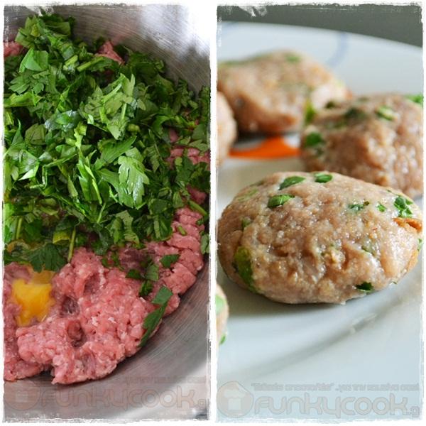 Συνταγές Κοκκινιστά Κεφτεδάκια