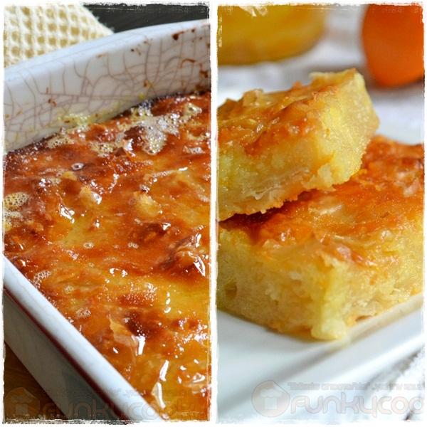 Συνταγή για Πορτοκαλόπιτα Σιροπιαστή