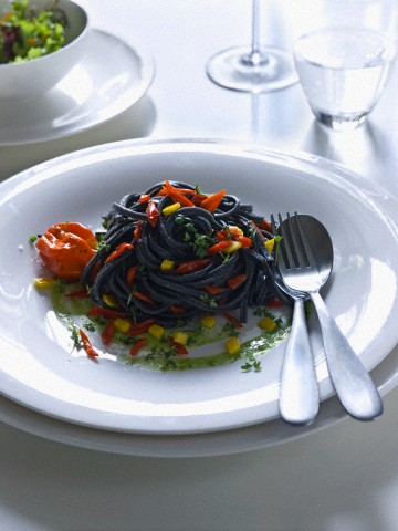 Noodles μαύρου ρυζιού