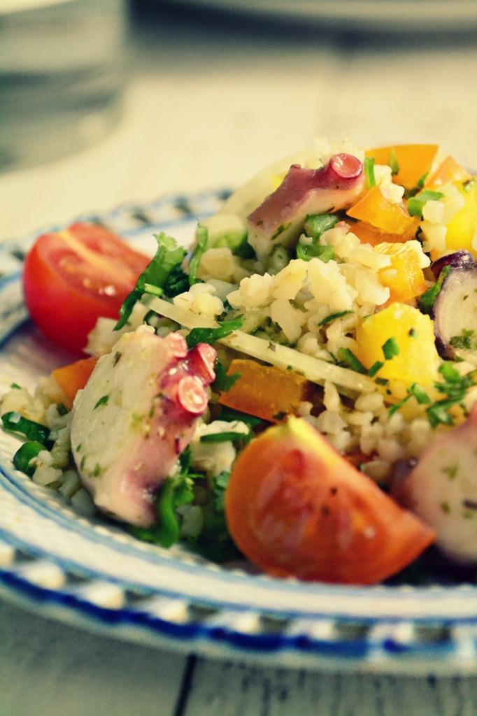 Σαλάτα με Πλιγούρι Συνταγή