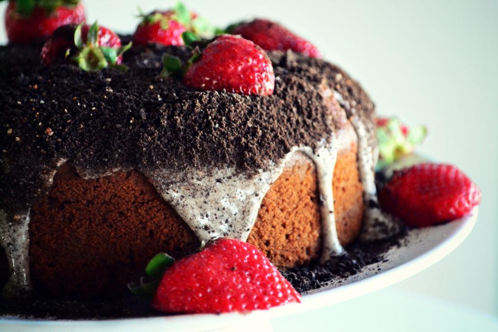 Κέικ με Σοκολάτα, Εσπρέσσο, και Τσίλι