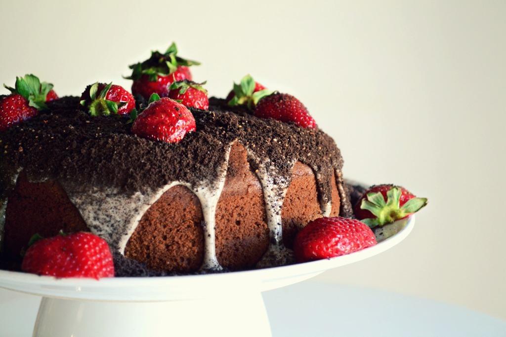 Κέικ με Σοκολάτα, Τσίλι,Εσπρέσσο