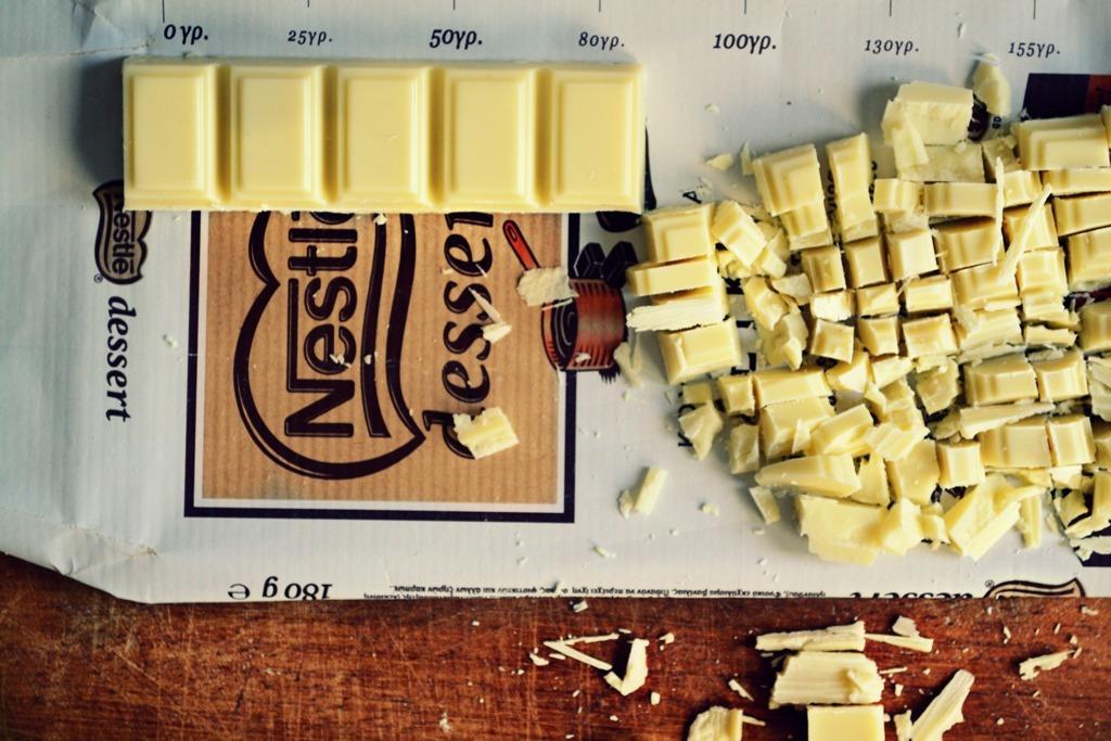 Συνταγές με λευκή σοκολάτα