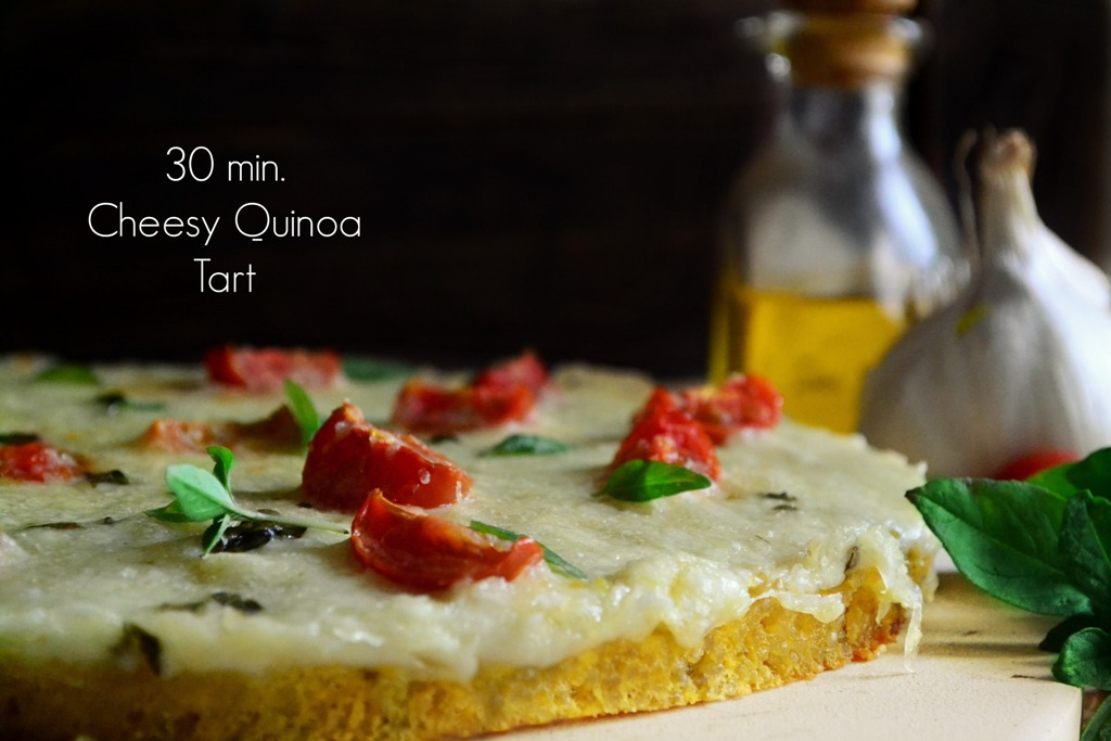 Eύκολη Τάρτα με Κινόα και Τυρί Σαν Μιχάλη