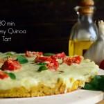 Τάρτα με Τυρί και Κινόα