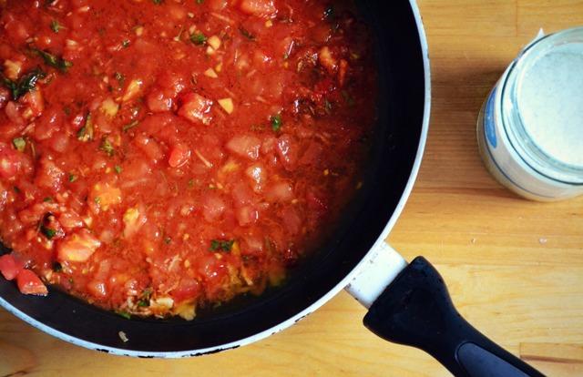 Συνταγή για Εύκολη Σάλτσα Ντομάτα