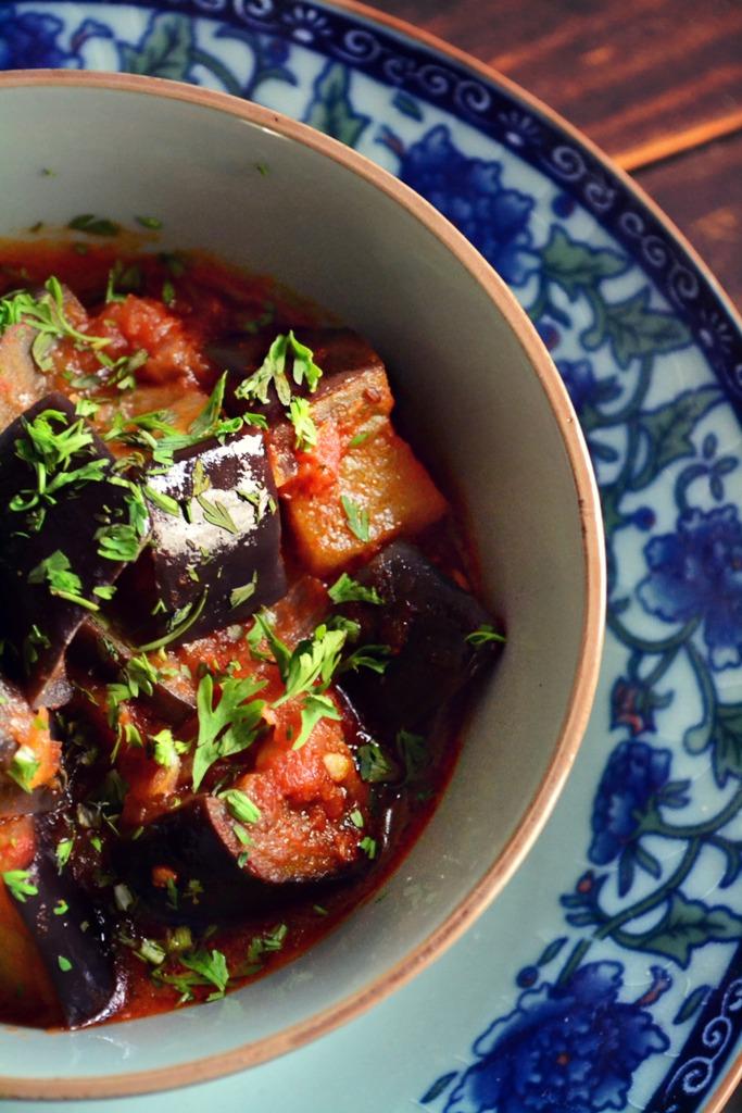 Συνταγές Ανατολίτικες Μελιτζάνες