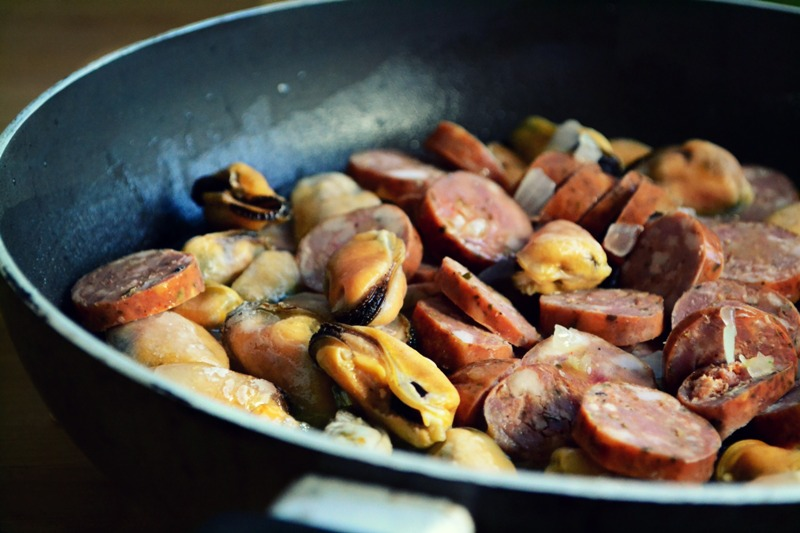 Συνταγές με Μύδια