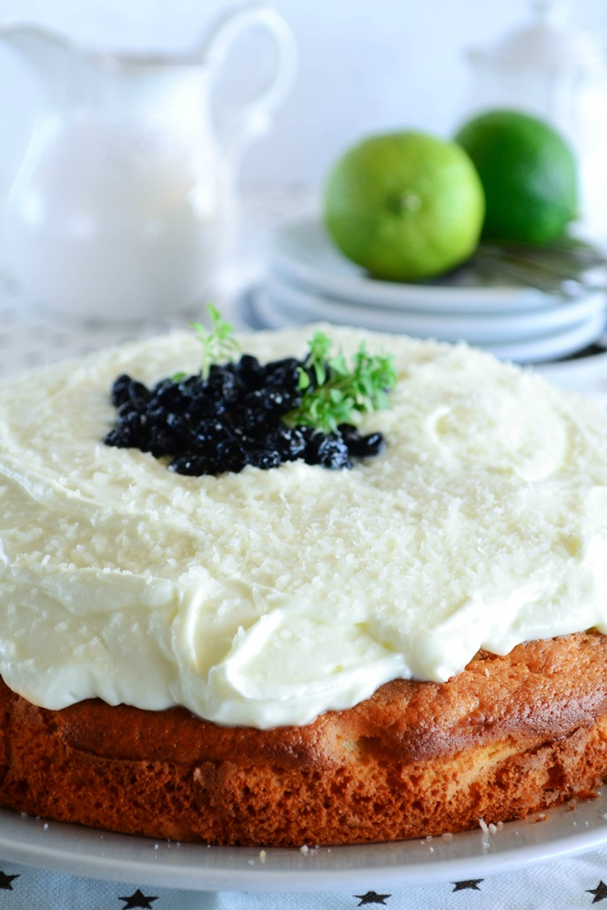 Κέικ με Ελαιόλαδο και Πεπόνι