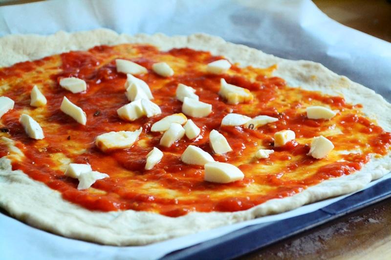 Συνταγές πίτσα μαργαρίτα