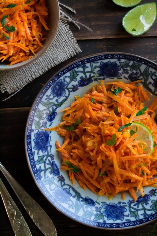 Σαλάτα με Καρότο Συνταγές