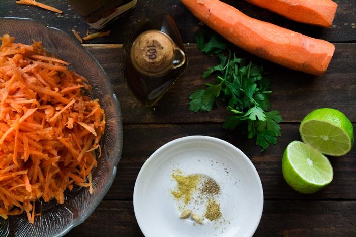 Συνταγές για Καροτοσαλάτα