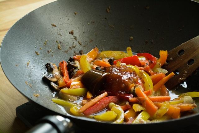 Γλυκόξινο Χοιρινό με Λαχανικά Συνταγές