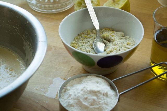 Κέικ με Ελαιόαδο χωρίς βουτυρο Συνταγή