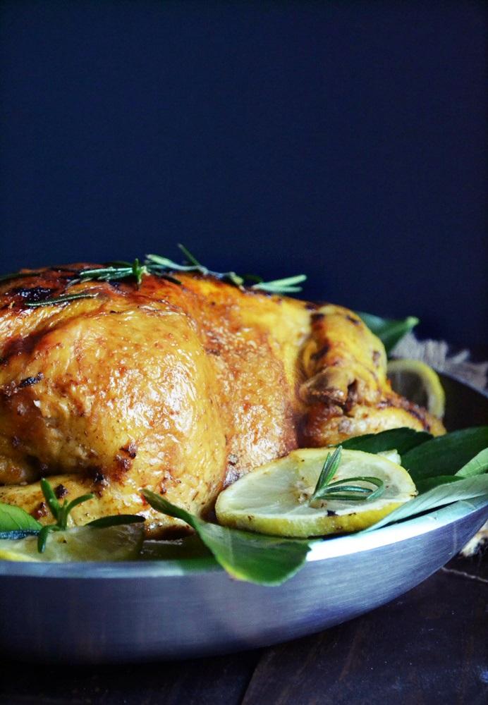 Γεμιστό Κοτόπουλο στον Φούρνο Ζουμερό