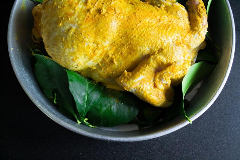 Κοτόπουλο με λεμόνι στον φούρνο συνταγή