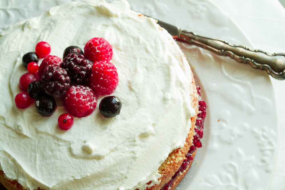 Victoria Sandwich Cake Marks and Spencer Food
