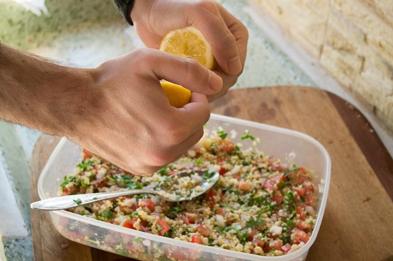 Συνταγή για Σαλάτα Ταμπουλέ