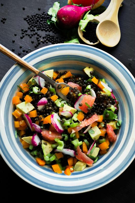 Σαλάτες με Φακές Eύκολες Συνταγές