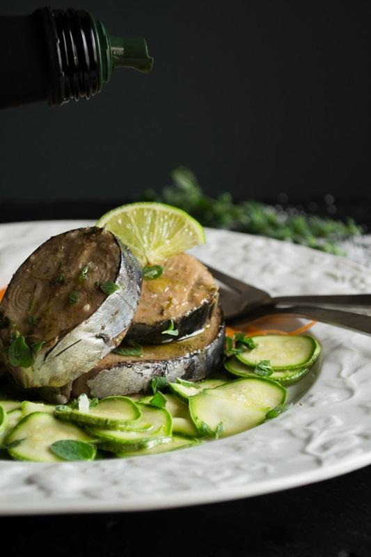Σαλάτα με Ωμά Κολοκυθάκια