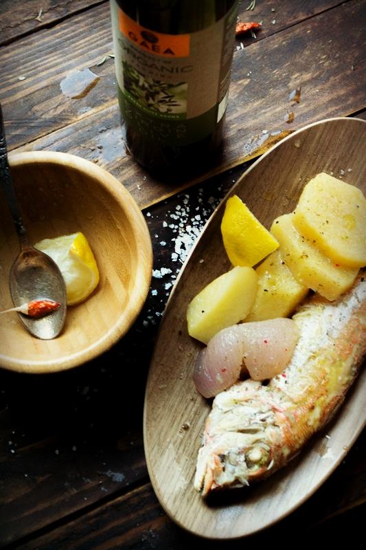 Gaea Ελαιόλαδο Συνταγές για Ψάρια