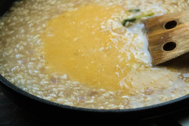 Συνταγή για Ριζότο με Κολοκύθα