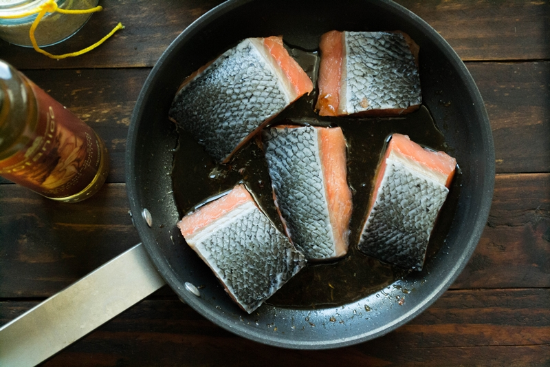 Ασιατικές Συνταγές με Σολομό
