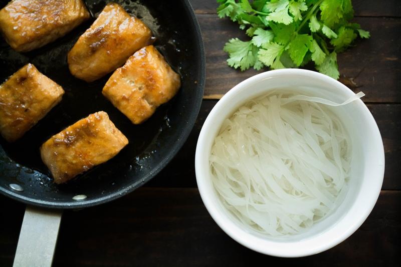 Noodles Ρυζιού Συνταγές