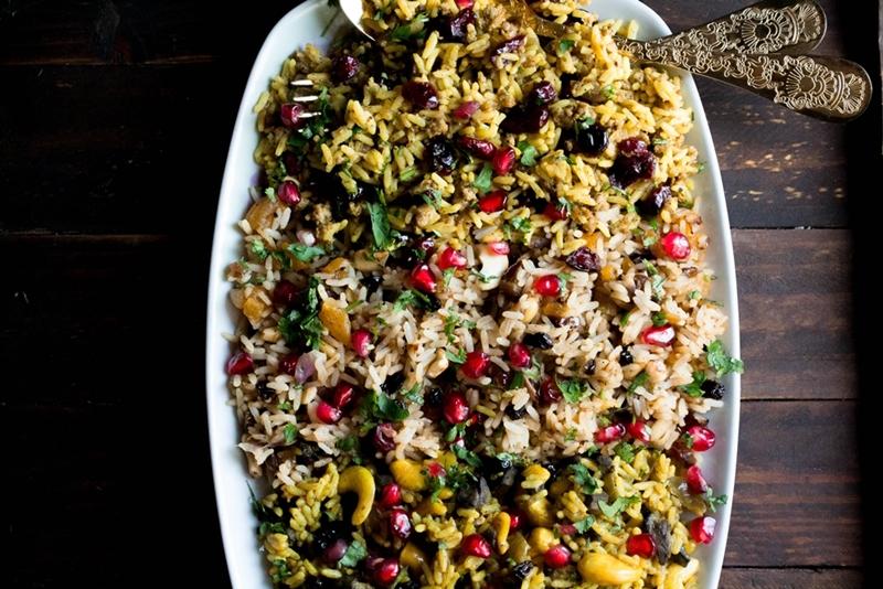 Περσικό Ρύζι Συνταγές