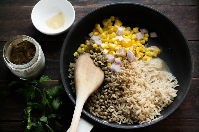 Συνταγή για Φακόρυζο