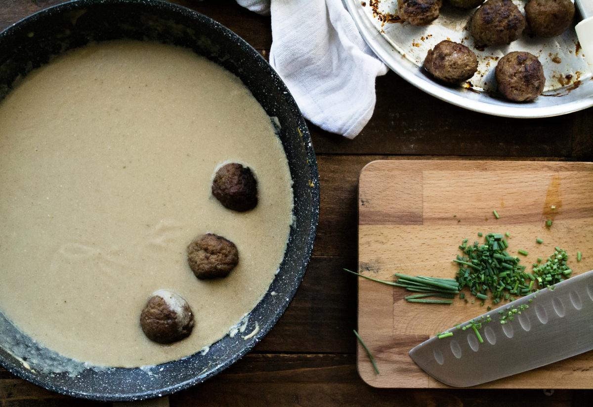 Συνταγή για Σουηδικά Κεφτεδάκια-Kottbullar