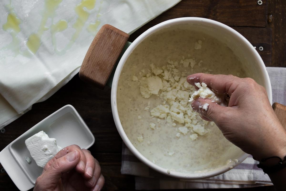 Συνταγή για Τραχανόπιτα με Φύλλο